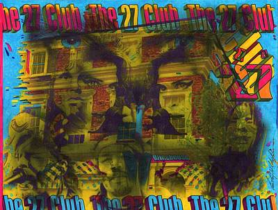 Grammy Winners Painting - Club 27 by Anthony Whelihan