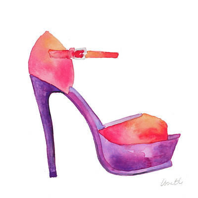 Stilettos Painting - Club Stiletto I by Lanie Loreth