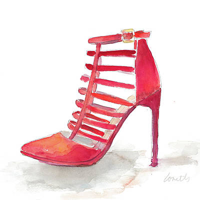 Stilettos Painting - Club Stiletto II by Lanie Loreth