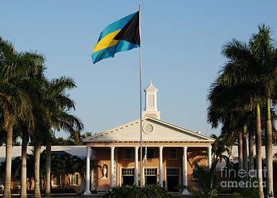 Photograph - Clubhouse The Lyford Cay Club The Bahamas by Jan Daniels
