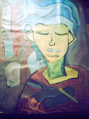 Painting - Cluttered Mind by Shea Holliman