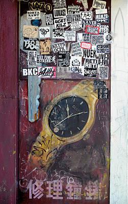 Wall Art - Photograph - Cluttered Watch by Mark Sullivan