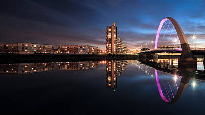 Photograph - Clyde Arc  by Grant Glendinning