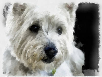 Purebred Digital Art - Clyde by Bob Galka