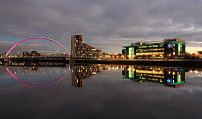 Glasgow Photograph - Clyde Reflections by Grant Glendinning