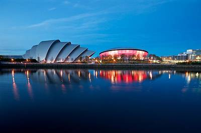 Clydeside Reflected Art Print