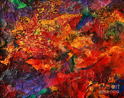 Mixed Media - Cme Explosion by Myra Maslowsky