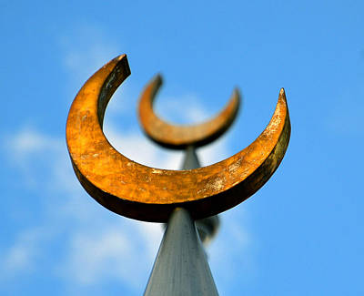 Photograph - Golden Crescent Moons by David Lee Thompson