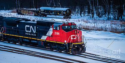 Photograph - Cn 2184 by Ronald Grogan