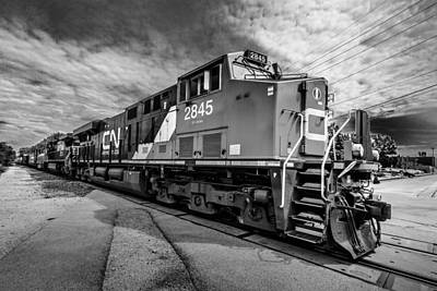 Photograph - Cn 2845 by Randy Scherkenbach