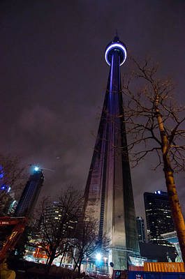 Photograph - Cn Tower by Guy Whiteley