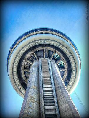 Photograph - Cn-tower by Michaela Preston