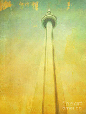 Photograph - Cn Tower Ontario Canada by Patricia Awapara