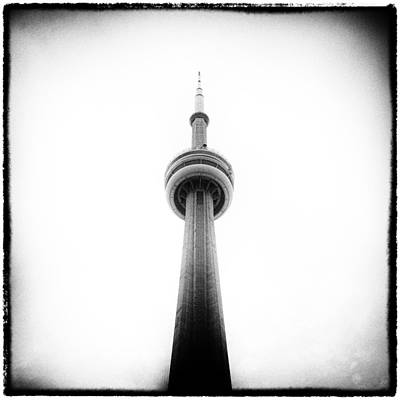 Film Photograph - Cn Tower Square by Tanya Harrison