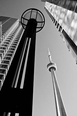 Photograph - Cn Tower Surrounded by Arkady Kunysz