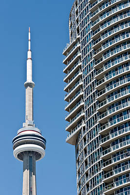 Photograph - Cn Tower Toronto Ontario by Marek Poplawski