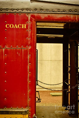 Photograph - Coach - Train  by Colleen Kammerer