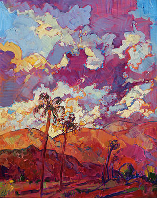 Painting - Coachella Sky by Erin Hanson