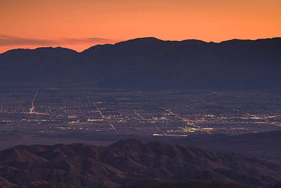 Palm Springs Photograph - Coachella Valley And Palm Springs by Panoramic Images