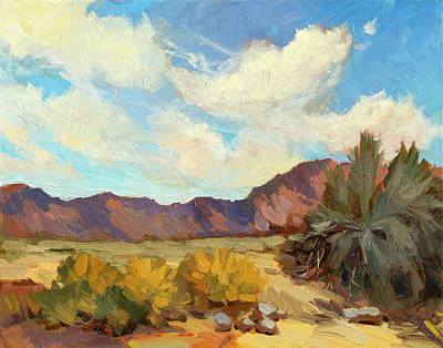 Painting - Coachella Valley Preserve by Diane McClary