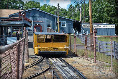 Coal Car Art Print by Gary Keesler