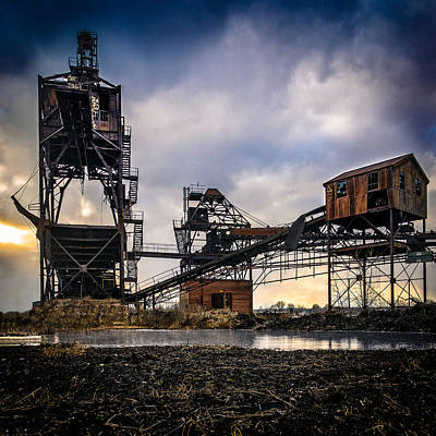 Photograph - Coal Conveyor And Loader by Chris Bordeleau
