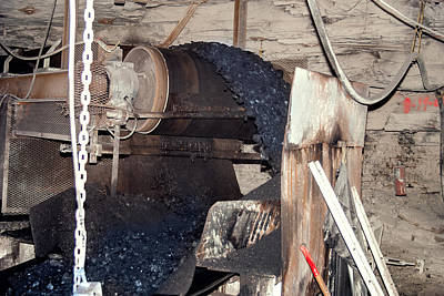 Photograph - Coal Conveyor Belt  by Mary Almond