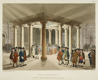 Coal Exchange Art Print by British Library
