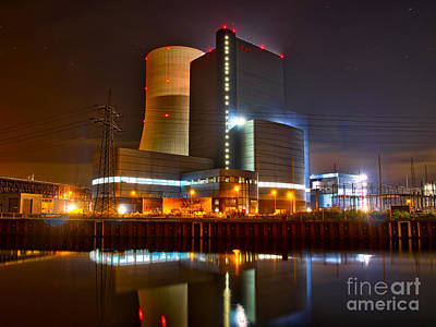 Coal Fired Powerhouse Art Print
