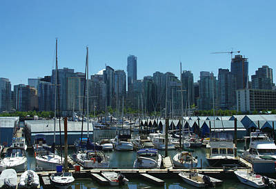 Photograph - Coal Harbour by Marilyn Wilson