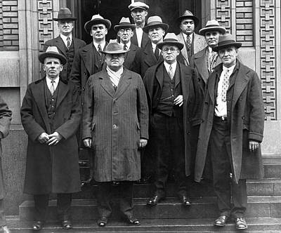 Coal Industry Labor Leaders Art Print by Underwood Archives
