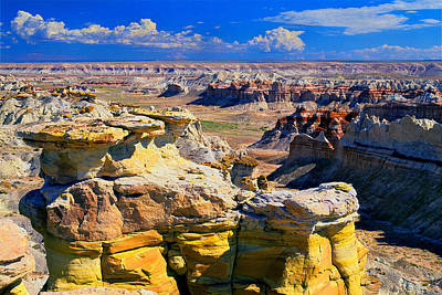 Photograph - Coal Mine Canyon-2 by Frank Houck