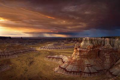 Mine Photograph - Coal Mine Canyon by Andrew Waddington