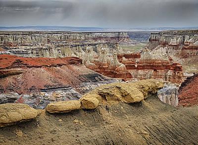Robert Jensen Photograph - Coal Mine Canyon by Robert Jensen
