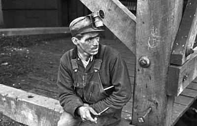 Photograph - Coal Miner, 1935 by Granger
