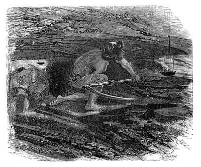 Coal Miner Art Print