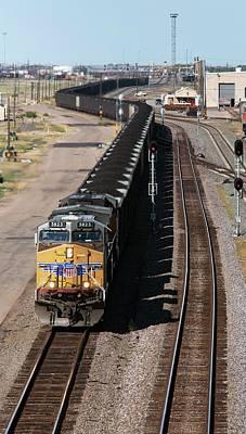 Coal Train Art Print by Jim West