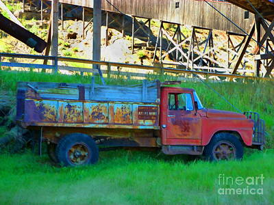 Coal Truck Art Print by John Kreiter
