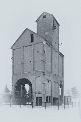 Photograph - Coaling Tower by James Howe