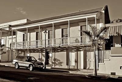 Photograph - Coamo Residence B W 1 by Ricardo J Ruiz de Porras