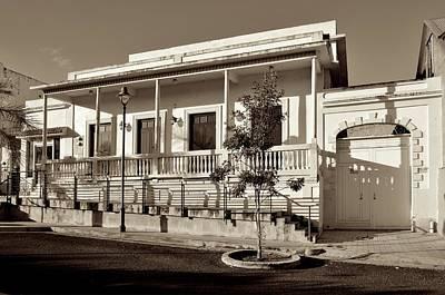 Photograph - Coamo Residence B W 2 by Ricardo J Ruiz de Porras