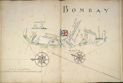Coast About Bombay Art Print by British Library