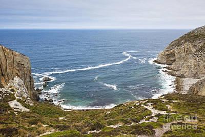 Coast At Cap De La Chevre Crozon Peninsula Finistere Brittany France Europe Art Print