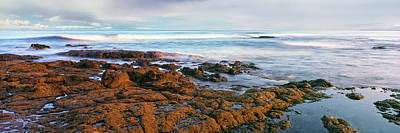 Baja Photograph - Coast At Sunset, Las Rocas Beach, Baja by Panoramic Images