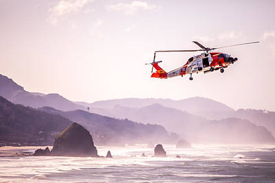 Photograph - Coast Guard And Haystack by Joseph Bowman