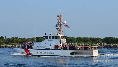 Photograph - Coast Guard Cutter  by Bob Sample