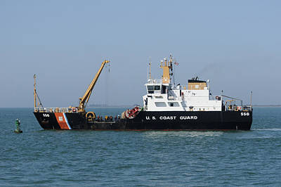 Photograph - Coast Guard Buoy Tender by Bradford Martin