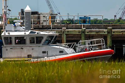 Photograph - Coast Guard Charleston by Dale Powell