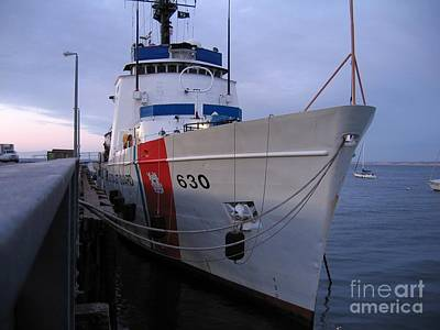 Photograph - Coast Guard Cutter Alert by James B Toy