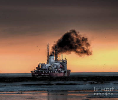 Photograph - Coast Guard Cutter by Jim Lepard